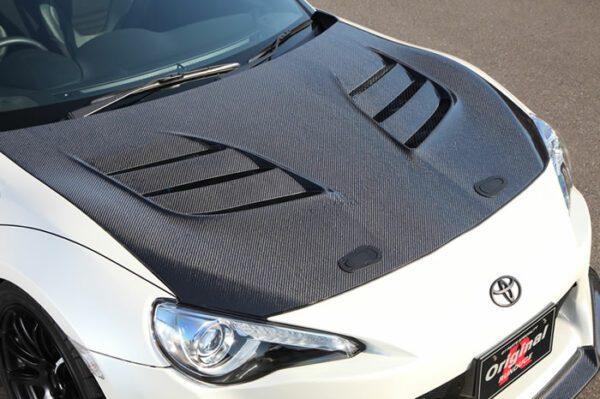 VARIS Cooling Bonnet System 1, Carbon-0