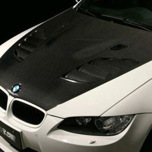 VRS Cooling Bonnet, FRP + Carbon Duct-0