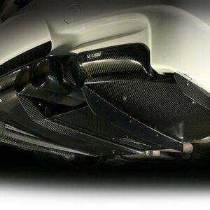 VRS Rear Diffuser System 1, Half Carbon-0