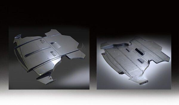 VRS Rear Diffuser System 1 & 2, Carbon-0